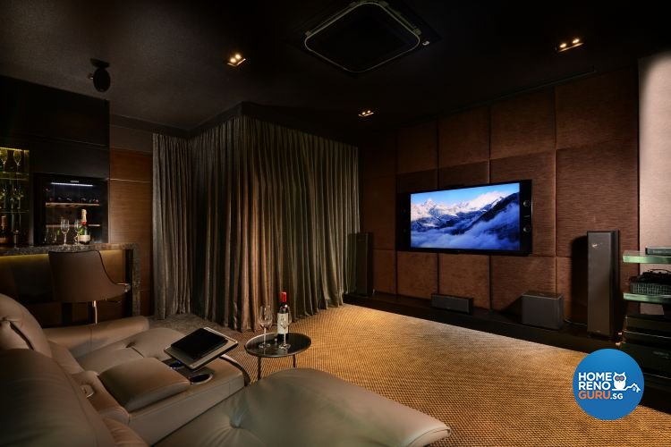 Classical, Modern, Tropical Design - Entertainment Room - Landed House - Design by Darwin Interior
