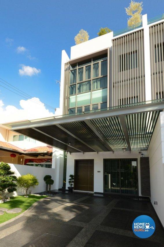 Classical, Modern, Tropical Design - Garden - Landed House - Design by Darwin Interior
