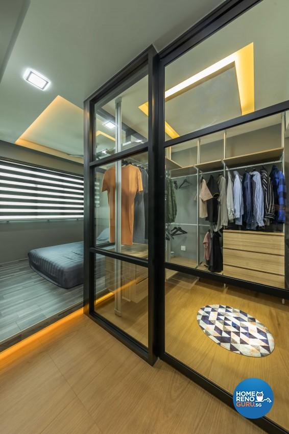 Industrial, Scandinavian Design - Bedroom - HDB 4 Room - Design by Darwin Interior