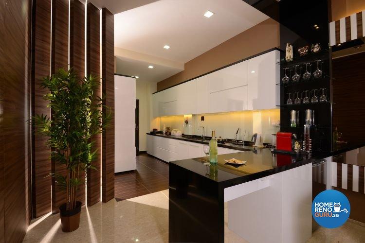 Contemporary, Modern Design - Kitchen - Condominium - Design by Darwin Interior