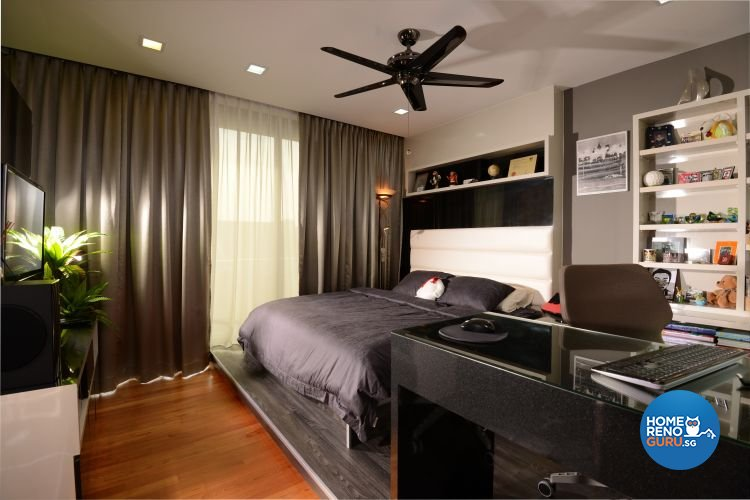 Contemporary, Modern Design - Bedroom - Condominium - Design by Darwin Interior