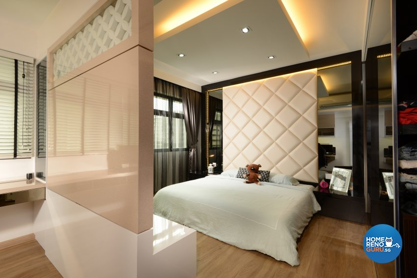 Classical, Contemporary, Modern Design - Bedroom - HDB 4 Room - Design by Darwin Interior