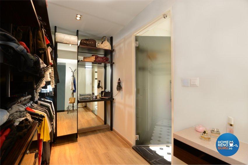 Classical, Contemporary, Modern Design - Bedroom - HDB 4 Room - Design by Darwin Interior