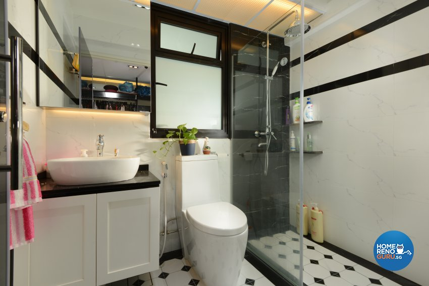 Classical, Contemporary, Modern Design - Bathroom - HDB 4 Room - Design by Darwin Interior