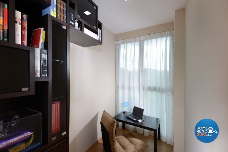 Resort, Tropical Design - Study Room - Condominium - Design by Darwin Interior