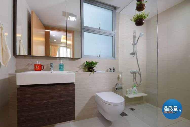 Resort, Tropical Design - Bathroom - Condominium - Design by Darwin Interior