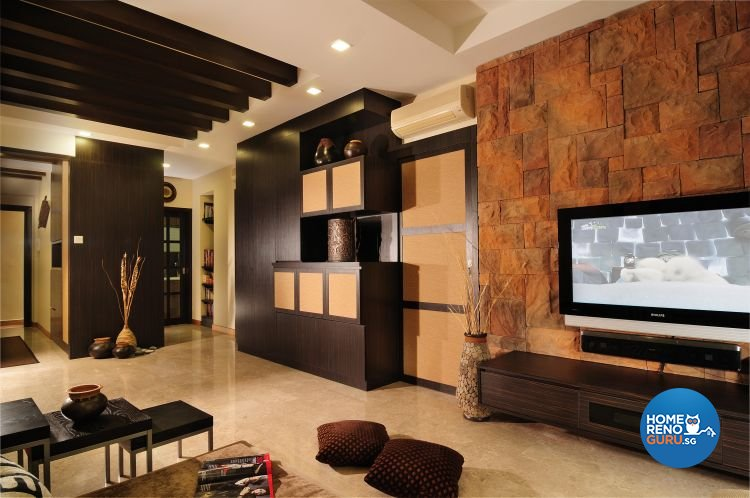 Resort, Tropical Design - Living Room - Condominium - Design by Darwin Interior
