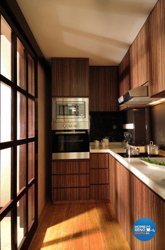 Resort, Tropical Design - Kitchen - Condominium - Design by Darwin Interior