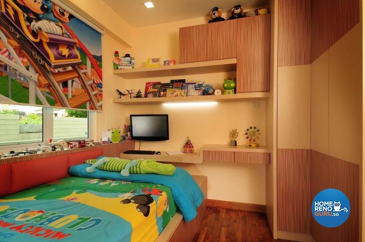 Resort, Tropical Design - Bedroom - Condominium - Design by Darwin Interior