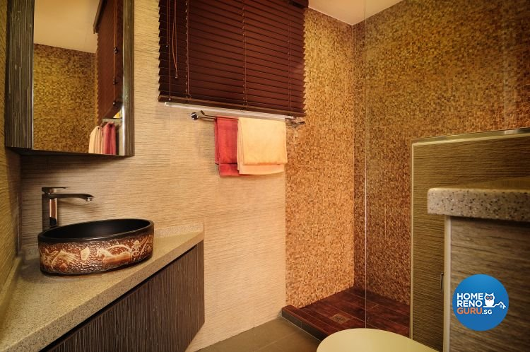 Resort, Tropical Design - Bathroom - Condominium - Design by Darwin Interior