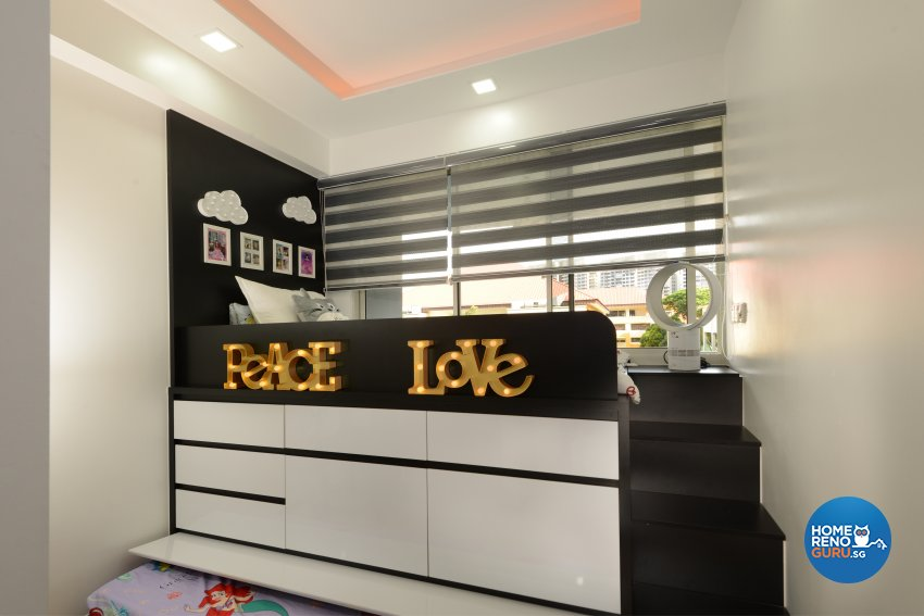 Contemporary, Minimalist, Modern Design - Bedroom - HDB 4 Room - Design by Darwin Interior