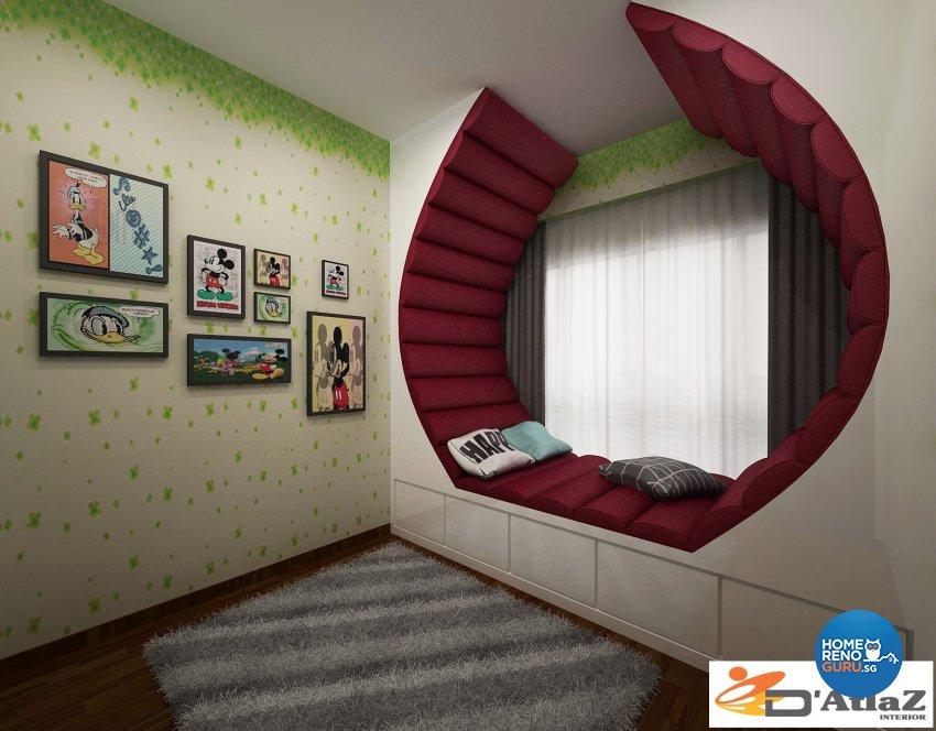 Modern Design - Bedroom - Condominium - Design by D'Atlaz Interior Pte Ltd