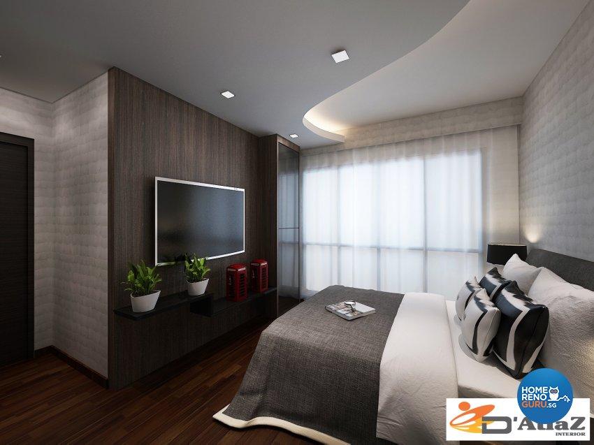 Contemporary Design - Bedroom - Condominium - Design by D'Atlaz Interior Pte Ltd