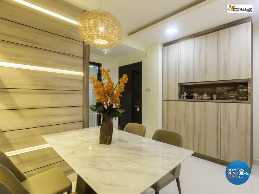 Contemporary Design - Dining Room - Others - Design by D'Atlaz Interior Pte Ltd