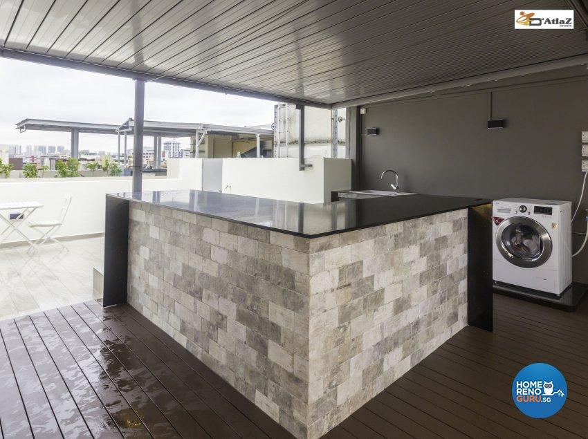 Contemporary Design - Balcony - Others - Design by D'Atlaz Interior Pte Ltd