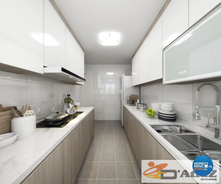 Minimalist, Modern Design - Kitchen - Others - Design by D'Atlaz Interior Pte Ltd