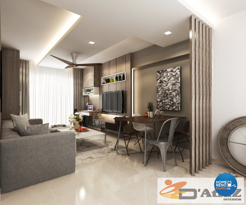 Minimalist, Modern Design - Living Room - Others - Design by D'Atlaz Interior Pte Ltd
