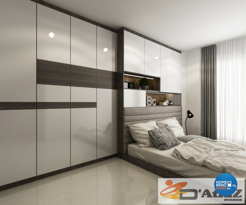 Minimalist, Modern Design - Bedroom - Others - Design by D'Atlaz Interior Pte Ltd