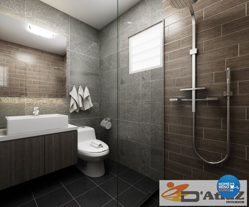 Minimalist, Modern Design - Bathroom - Others - Design by D'Atlaz Interior Pte Ltd