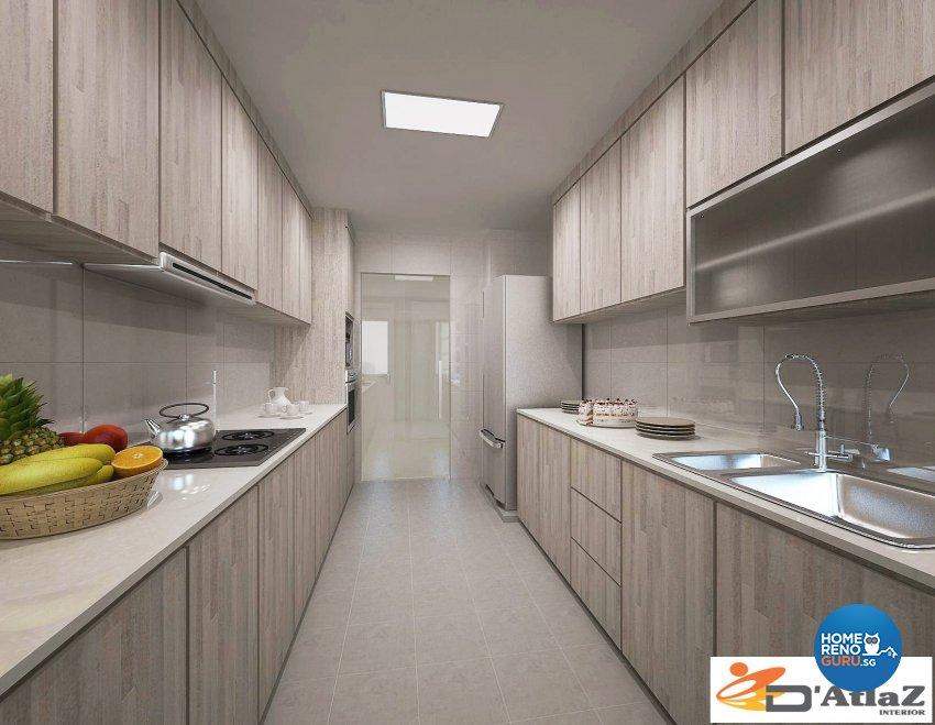 Mediterranean Design - Kitchen - Others - Design by D'Atlaz Interior Pte Ltd