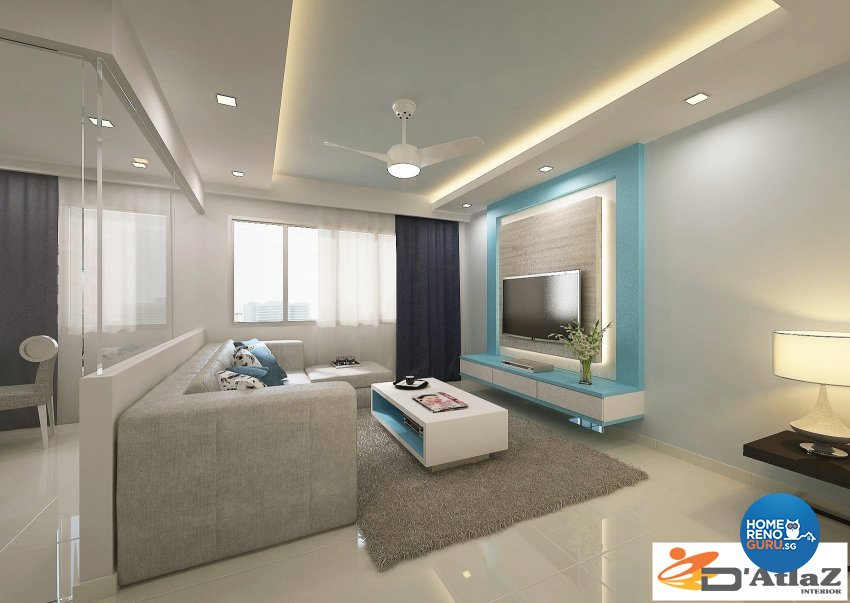 Mediterranean Design - Living Room - Others - Design by D'Atlaz Interior Pte Ltd