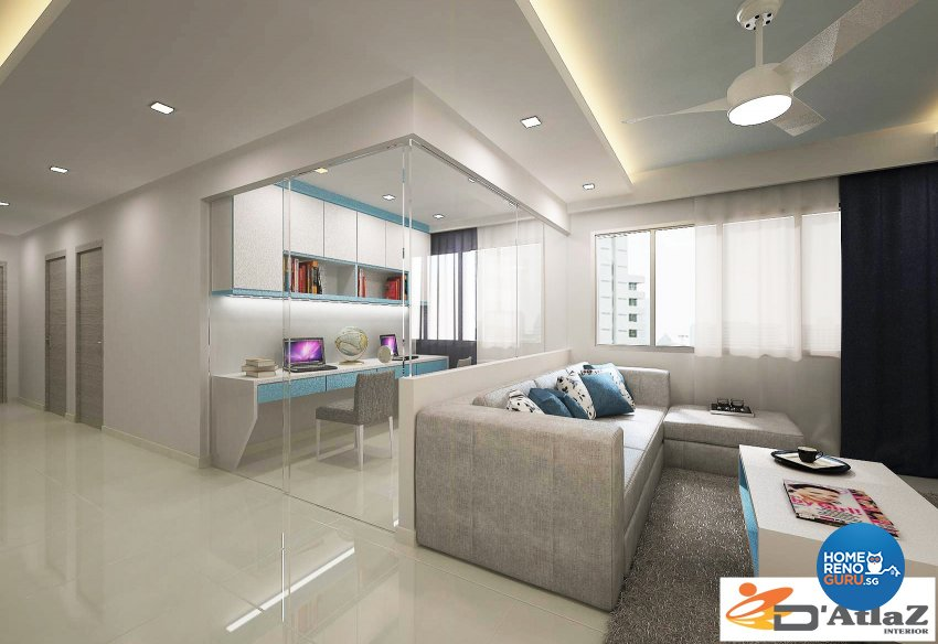 Mediterranean Design - Study Room - Others - Design by D'Atlaz Interior Pte Ltd