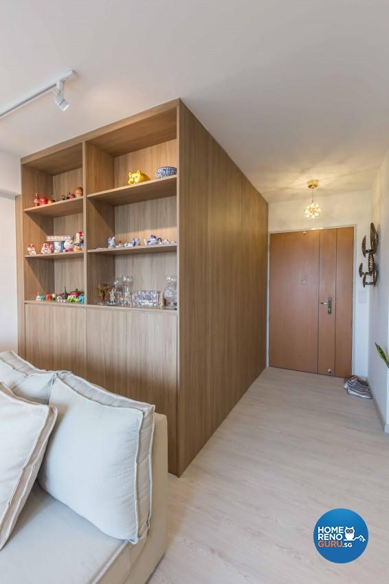 Contemporary, Modern Design - Living Room - HDB 4 Room - Design by DB Studio Pte Ltd