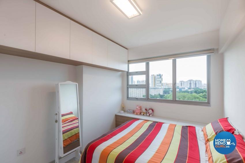 Contemporary, Modern Design - Bedroom - HDB 4 Room - Design by DB Studio Pte Ltd