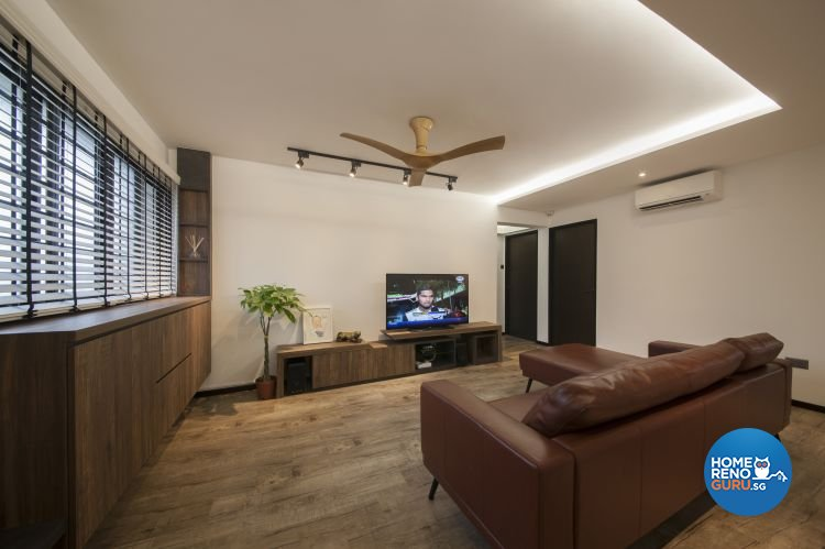 Contemporary, Modern, Scandinavian Design - Living Room - HDB 5 Room - Design by DB Studio Pte Ltd