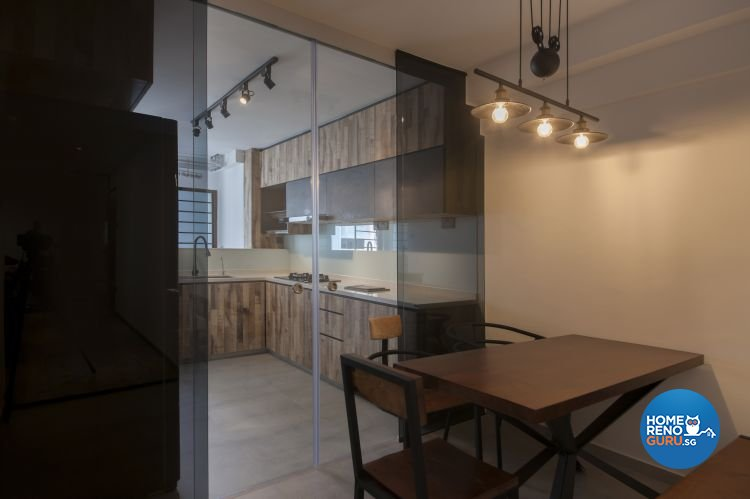 Contemporary, Modern, Scandinavian Design - Dining Room - HDB 5 Room - Design by DB Studio Pte Ltd