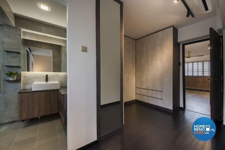 Contemporary, Modern, Scandinavian Design - Bedroom - HDB 5 Room - Design by DB Studio Pte Ltd