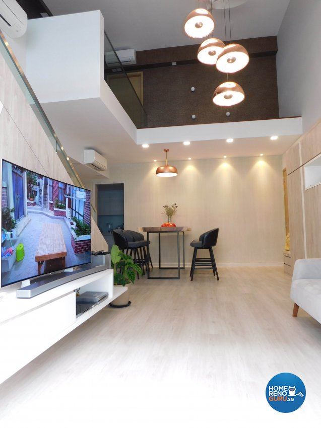 Contemporary, Modern Design - Living Room - Condominium - Design by DB Studio Pte Ltd