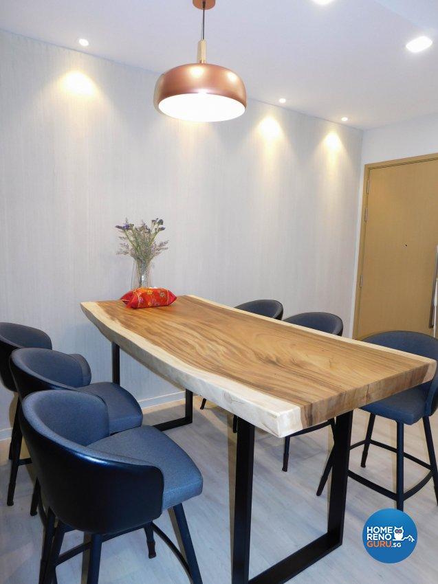 Contemporary, Modern Design - Dining Room - Condominium - Design by DB Studio Pte Ltd