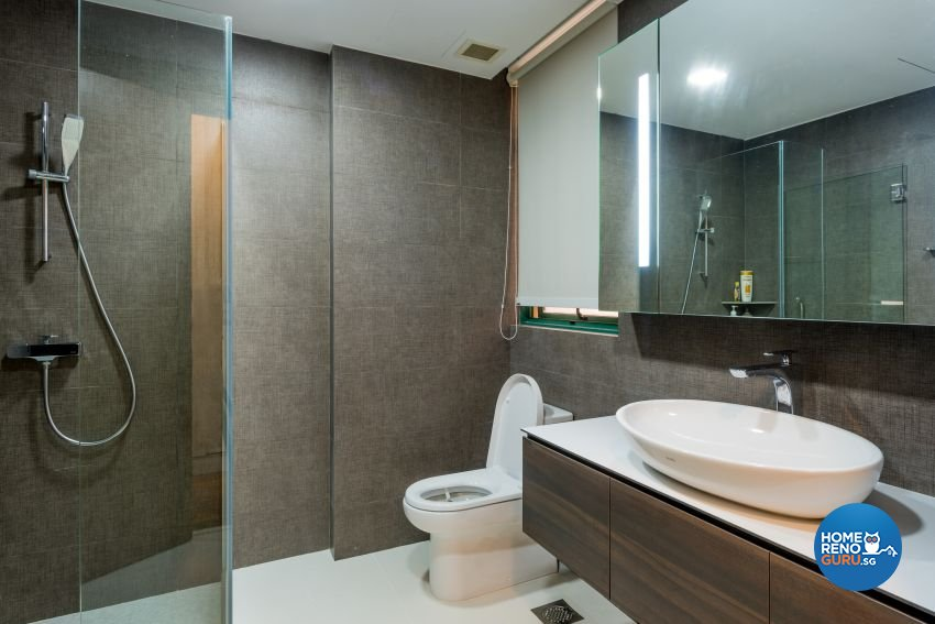 Contemporary Design - Bathroom - Condominium - Design by DB Studio Pte Ltd