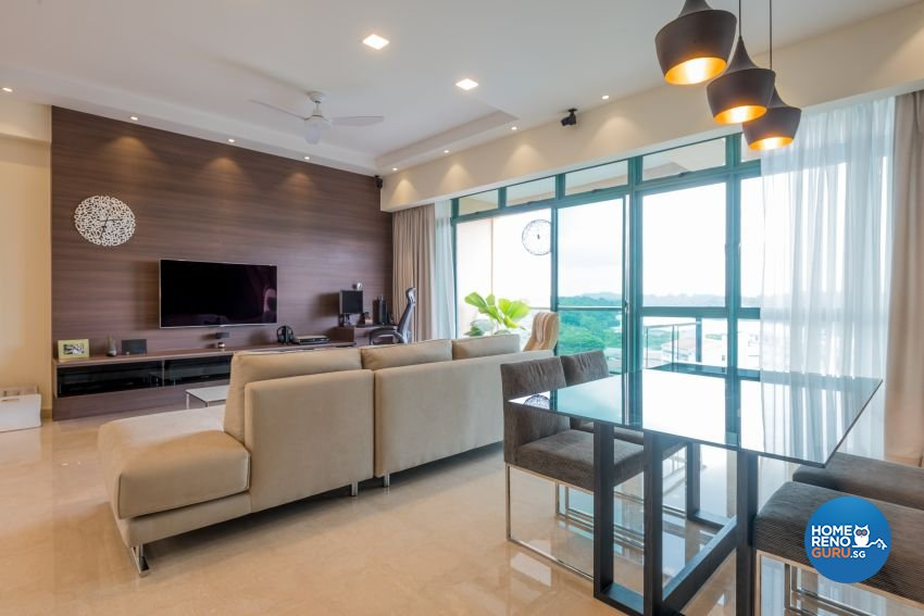 Contemporary Design - Dining Room - Condominium - Design by DB Studio Pte Ltd