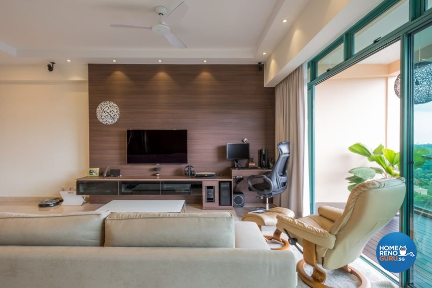 Contemporary Design - Living Room - Condominium - Design by DB Studio Pte Ltd