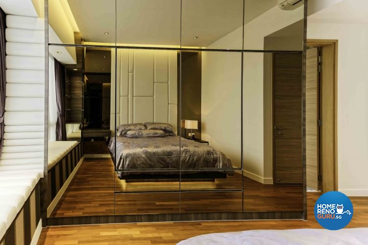 Contemporary, Modern, Vintage Design - Bedroom - Condominium - Design by DB Studio Pte Ltd