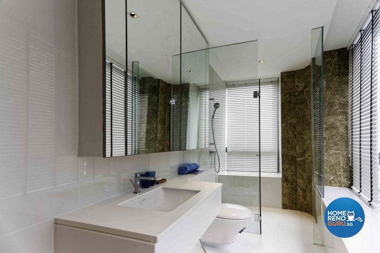 Contemporary, Modern, Vintage Design - Bathroom - Condominium - Design by DB Studio Pte Ltd