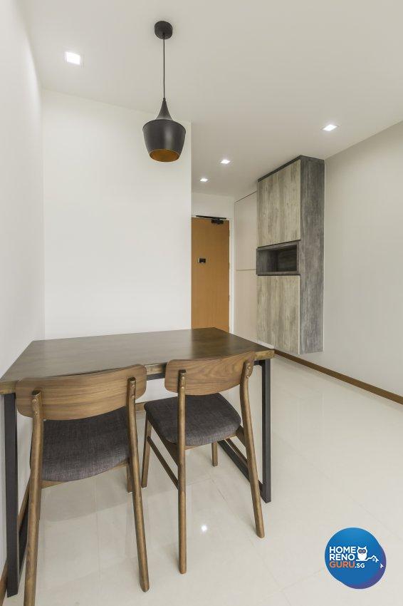 Modern Design - Dining Room - HDB 3 Room - Design by DB Studio Pte Ltd