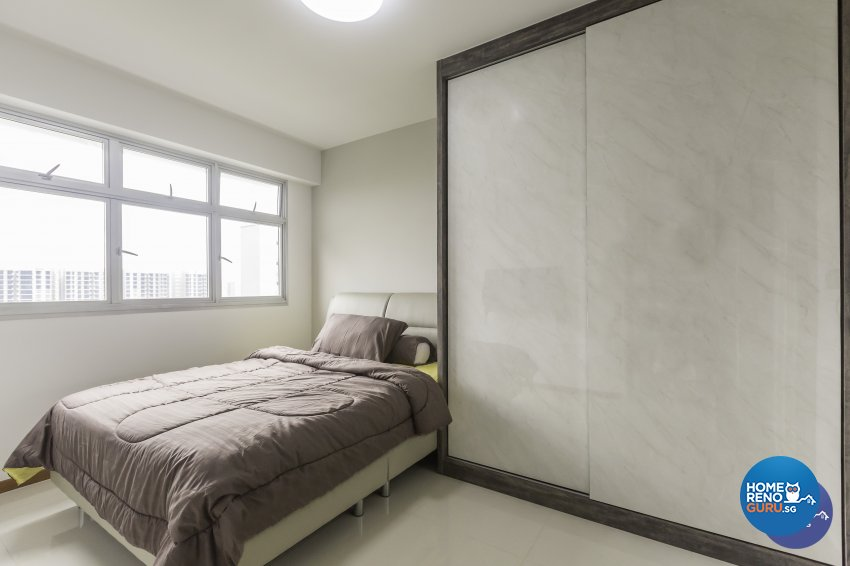 Modern Design - Bedroom - HDB 3 Room - Design by DB Studio Pte Ltd