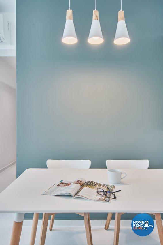 Scandinavian Design - Dining Room - HDB 3 Room - Design by DB Studio Pte Ltd