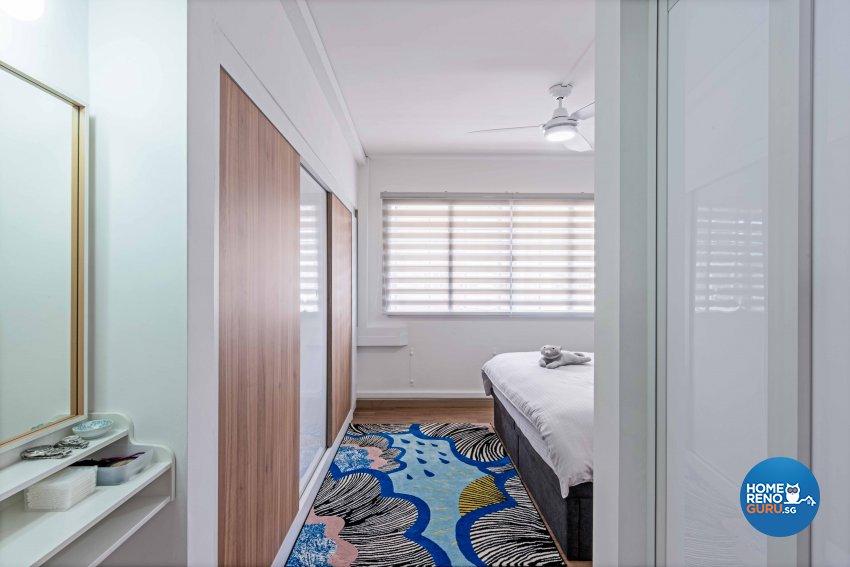 Minimalist Design - Bedroom - HDB 4 Room - Design by DB Studio Pte Ltd
