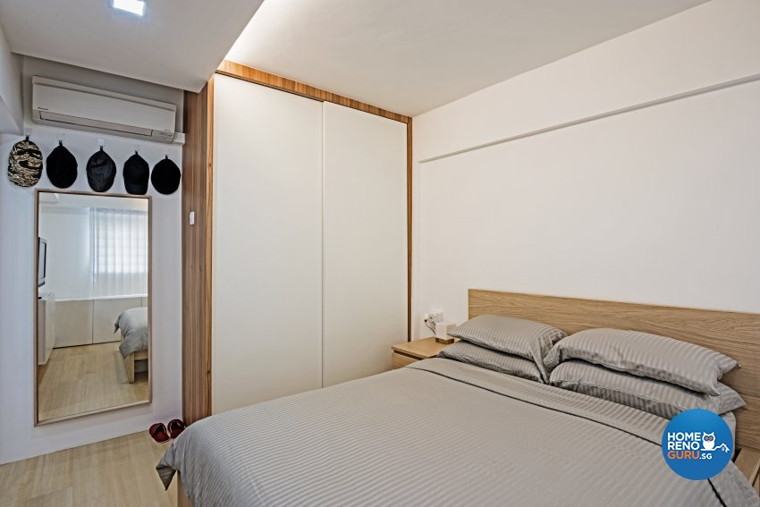 Minimalist, Scandinavian Design - Bedroom - HDB 4 Room - Design by DB Studio Pte Ltd