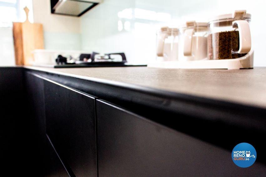 Contemporary, Scandinavian Design - Kitchen - HDB 4 Room - Design by DB Studio Pte Ltd