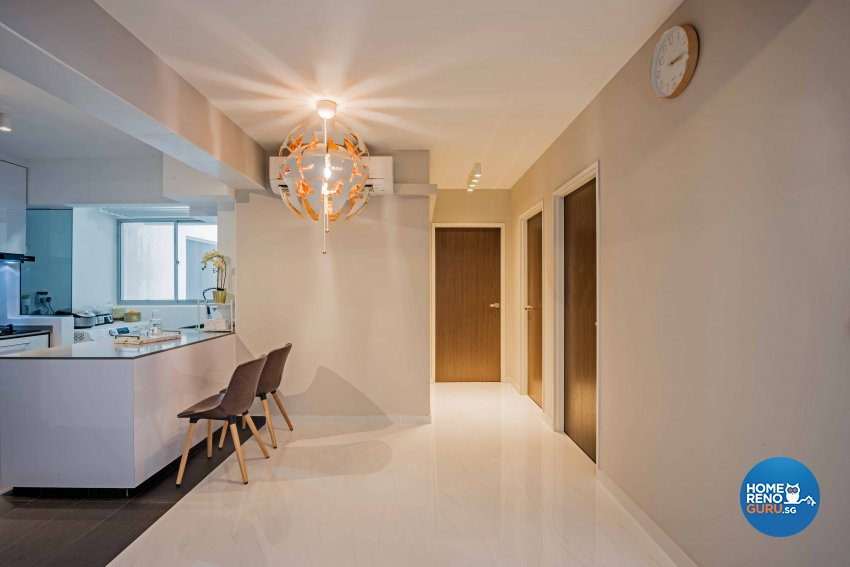 Modern Design - Dining Room - HDB 4 Room - Design by DB Studio Pte Ltd