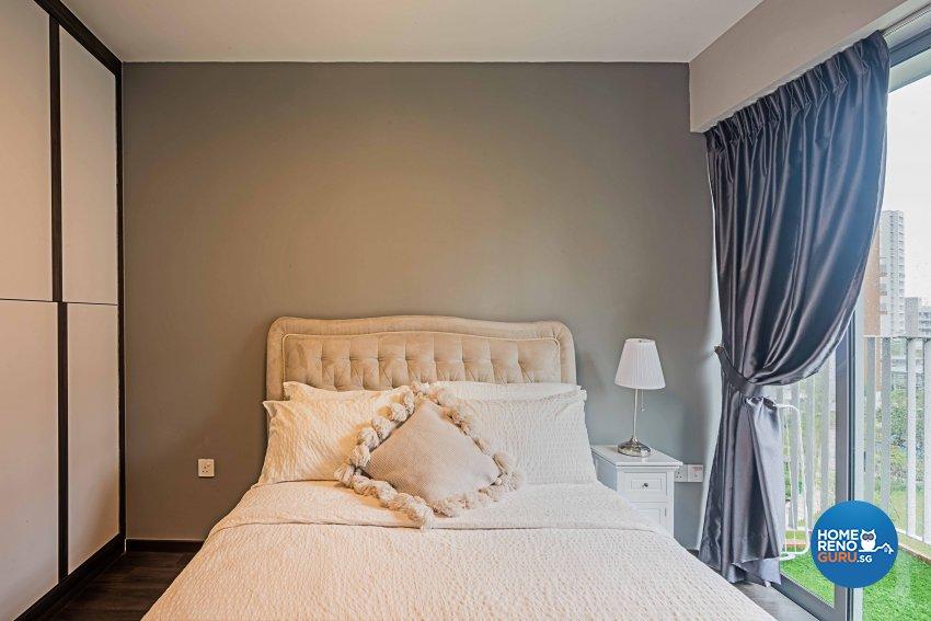 Modern Design - Bedroom - HDB 4 Room - Design by DB Studio Pte Ltd