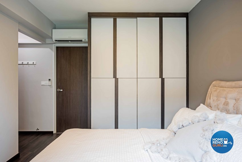 Modern Design - Bedroom - HDB 4 Room - Design by DB Studio Pte Ltd