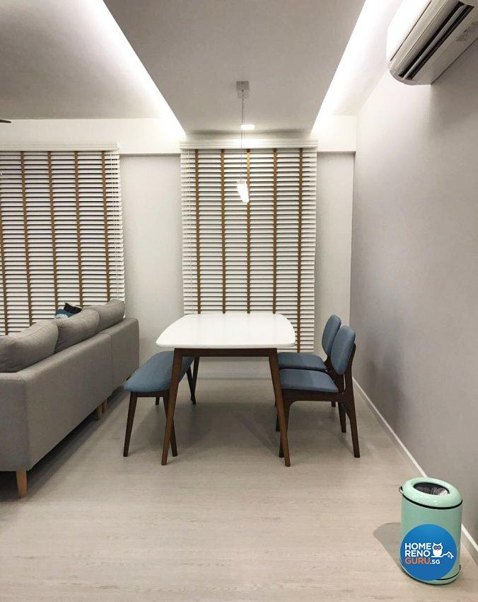 Scandinavian Design - Dining Room - HDB 5 Room - Design by DB Studio Pte Ltd