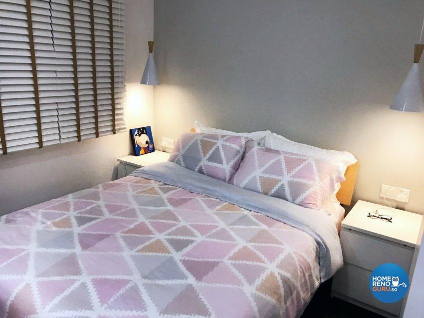 Scandinavian Design - Bedroom - HDB 5 Room - Design by DB Studio Pte Ltd