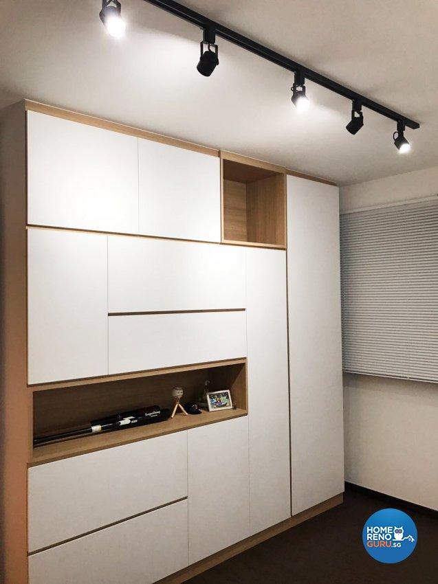 Scandinavian Design - Study Room - HDB 5 Room - Design by DB Studio Pte Ltd